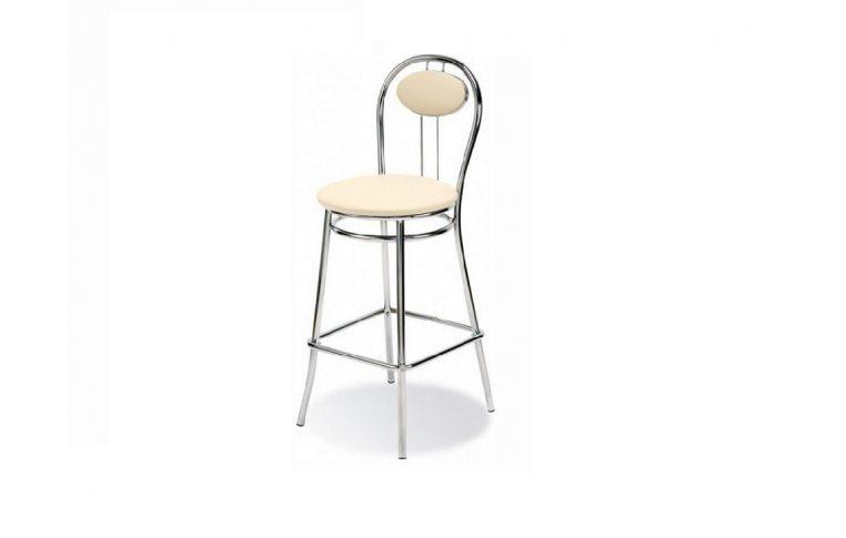 Барные стулья: купить Стул барный Tiziano hoker chrome - 1