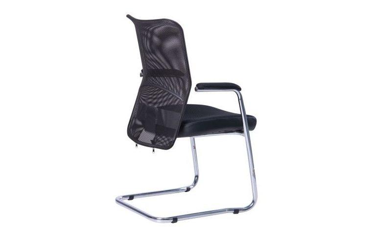 Офисные стулья: купить Стул АЕРО CF хром Неаполь N-20/сетка черная - 3
