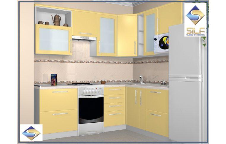 Кухни на заказ: купить Кухня под заказ Шеннон Сильф - 1