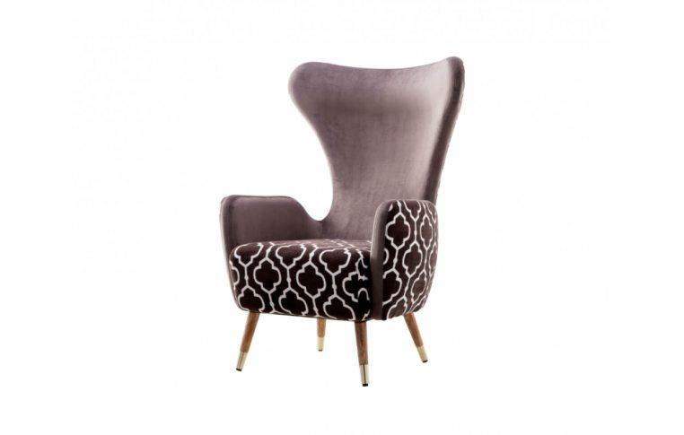 Кресла: купить Кресло лаунж Rist коричневое - 1