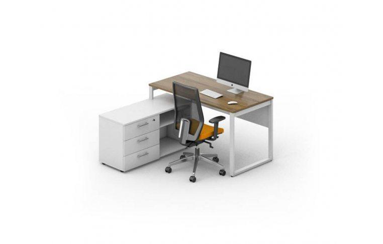 Офисные столы: купить Рабочее место персонала Джет композиция 2 M-Concept - 1