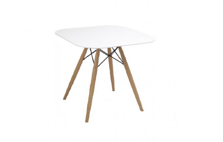 """Кухонные столы: купить Стол """"Осло"""" (ПЛ белый) ольха Domini - 1"""