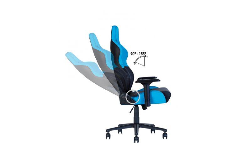 Геймерские кресла: купить Кресло для геймеров Hexter rc r4d Tilt mb70 Eco/01 Black/Blue - 13