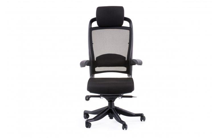 Офисные кресла: купить Кресло FULKRUM BLACK FABRIC, BLACK MESH - 2