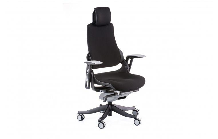 Офисные кресла: купить Кресло WAU BLACK FABRIC - 6