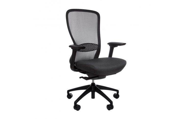 Эргономические кресла: купить Эргономичное кресло для компьютера In-point black Kreslalux - 1