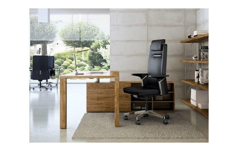 Кресла для руководителя: купить Кресло Sokoa K01 кожаное - 3