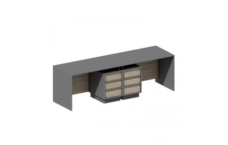 Офисная мебель: купить Комплект столов Промо 6 SLT - 2