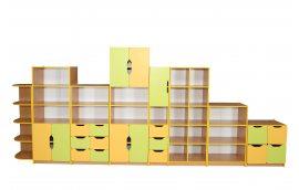"""Школьные шкафы: купить Стенка школьная универсальная """"Школа-Сад"""" -"""