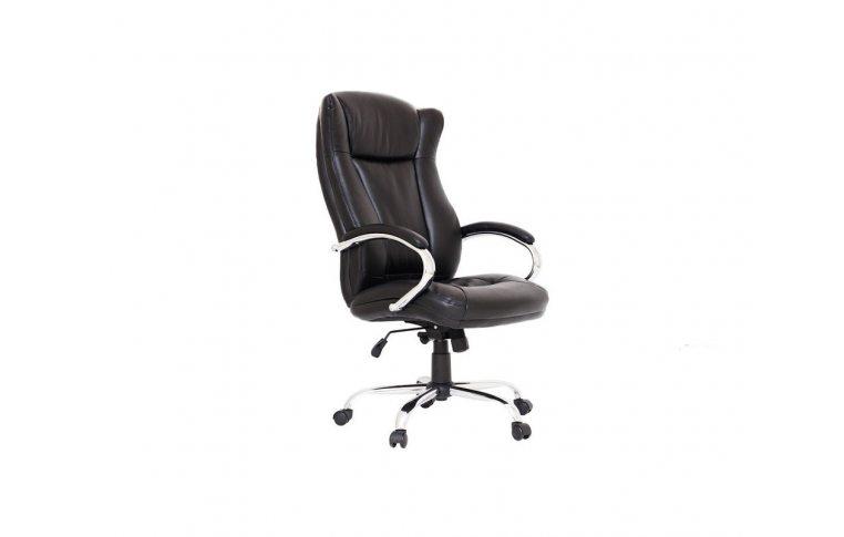 Кресла для руководителя: купить Кресло Сенатор хром М-2 кож.черн Richman - 1