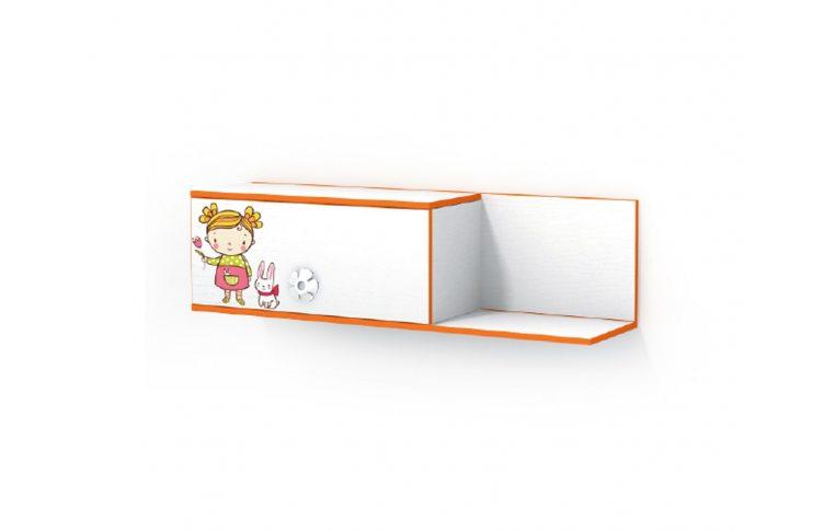 Детская мебель: купить Детская полка Мандаринка (Mandarin) LuxeStudio - 1