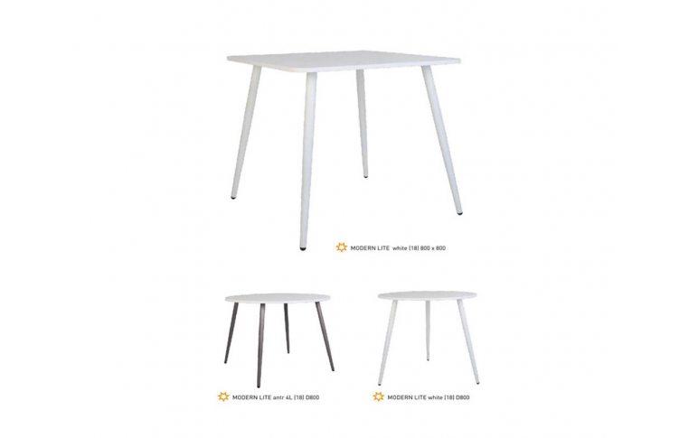 Кухонные столы: купить Стол Modern lite H18 antr 70х70 - 2
