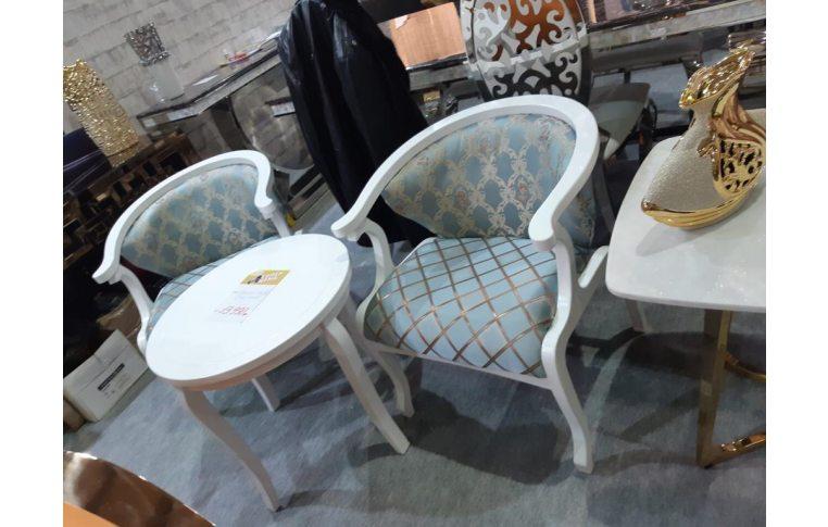 : купить Комплект для гостиной (1 стол, 2 стула) - 1
