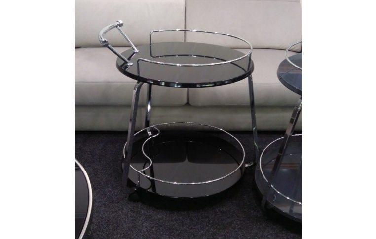 Журнальные столы: купить Стол сервировочный V-323 черный - 1