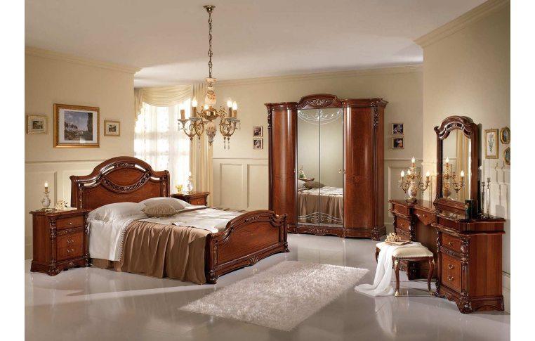 Итальянская мебель для спальни: купить Спальня Regina noce Mobil Piu - 1