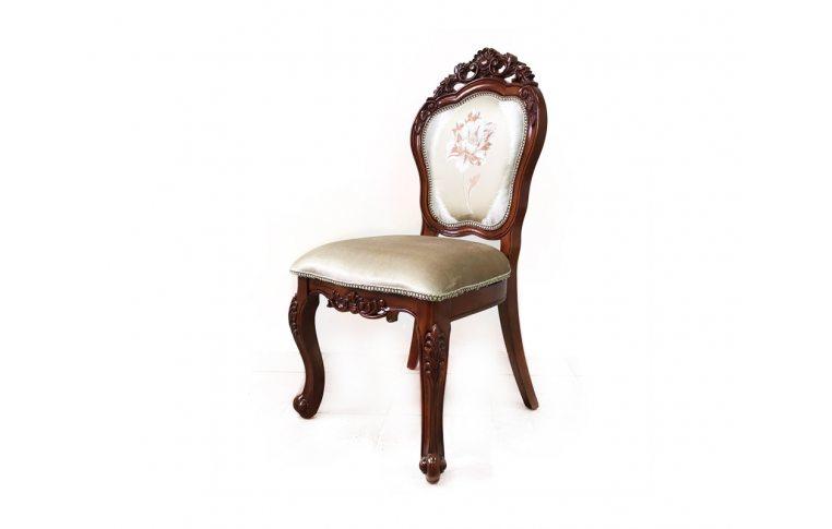 Кухонные стулья: купить Стул Daming 8072 F орех цветок - 1