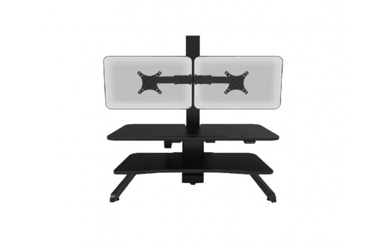 Эргономичные столы: купить Регулируемый стол для монитора AOKE Desk Riser 1 - 2