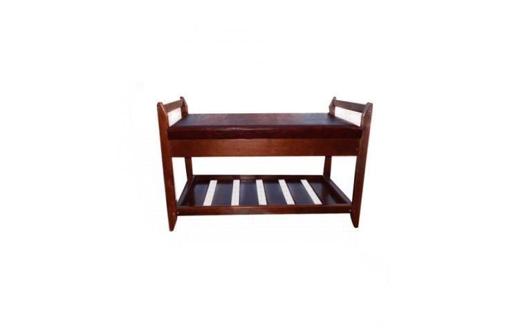 Мягкая мебель: купить Полка для обуви №2 (орех темный) - 1
