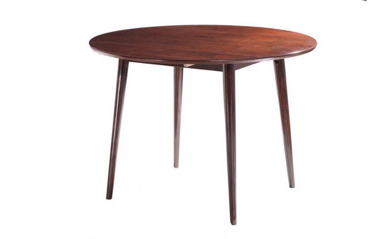 Кухонные столы: купить Стол круглый раскладной Астер венге Domini - 1