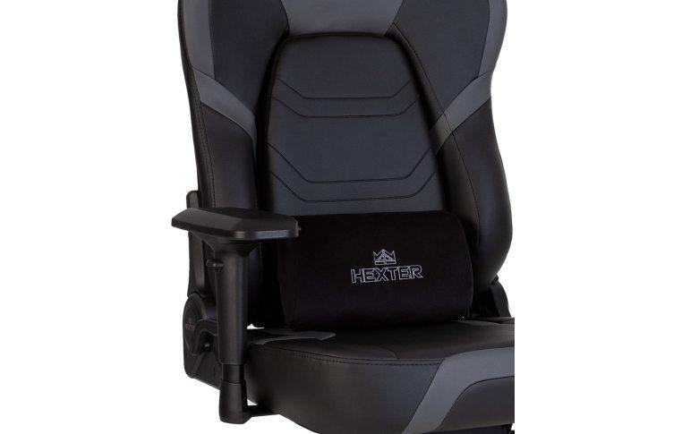 Игровые кресла: купить Кресло для геймеров Hexter xr r4d mpd mb70 Eco/01 Black/Grey - 5