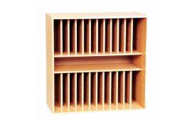 Школьные шкафы: купить Секция для журналов верхняя С-012 -