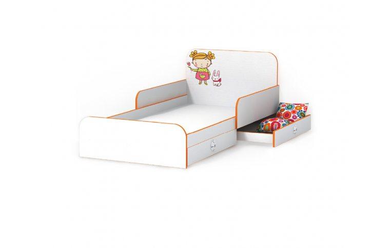 Детская мебель: купить Детская кровать Мандаринка (Mandarin) LuxeStudio - 1