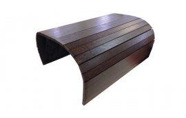 Накладка на диван Lareto деревянная 50 см