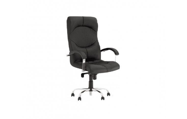 Кресла для руководителя: купить Кресло Germes Steel Chrome ECO-31 Новый стиль - 1
