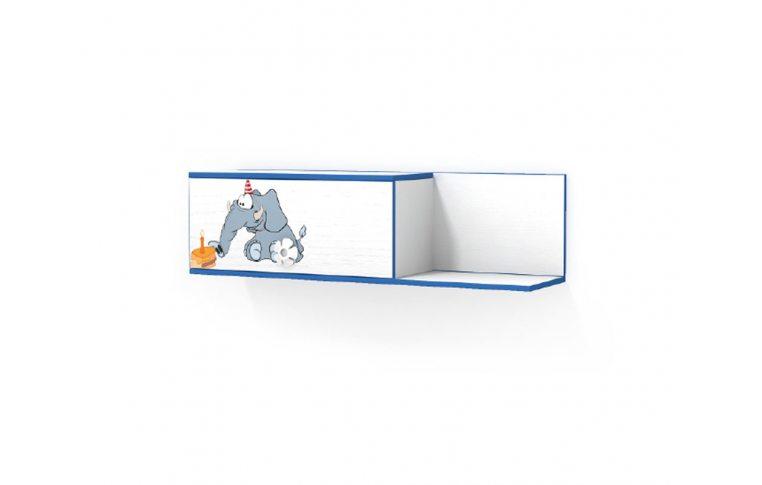 Детская мебель: купить Детская полка навесная Слоник (Elephant) LuxeStudio - 1