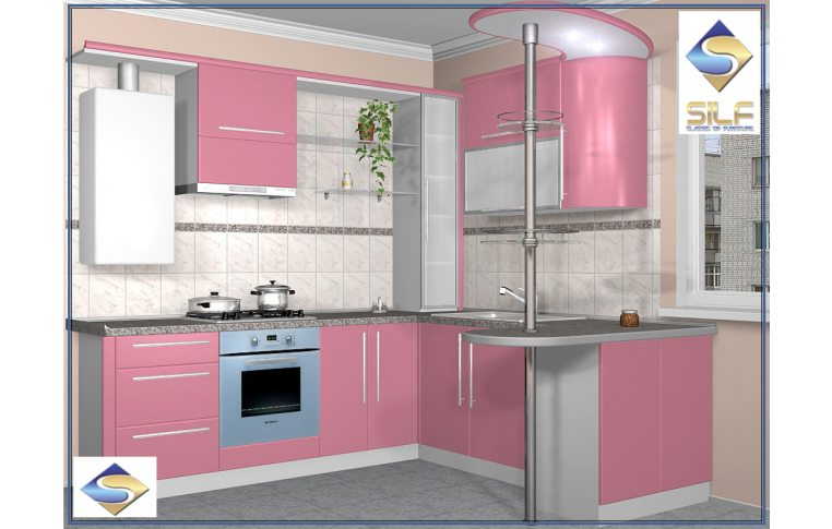 Кухни на заказ: купить Кухня под заказ Мариам Сильф - 1