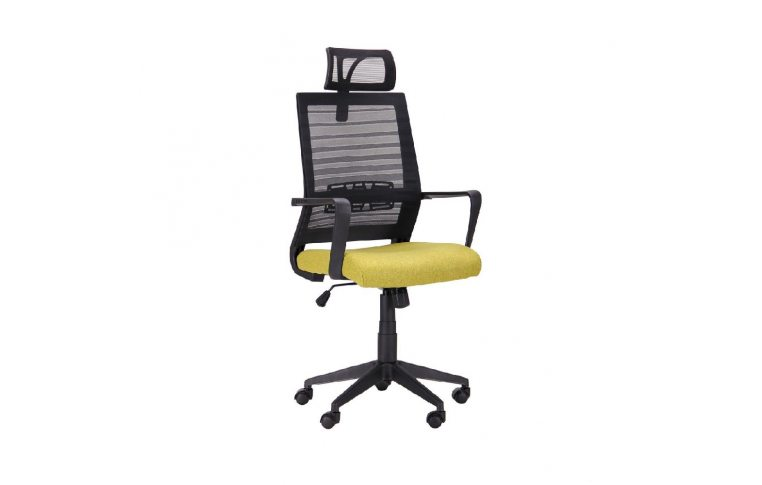 Офисные кресла: купить Кресло Radon черный/оливковый - 1