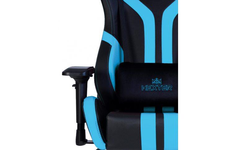 Игровые кресла: купить Кресло для геймеров Hexter Pro r4d Tilt mb70 Eco/03 Black/Blue - 7