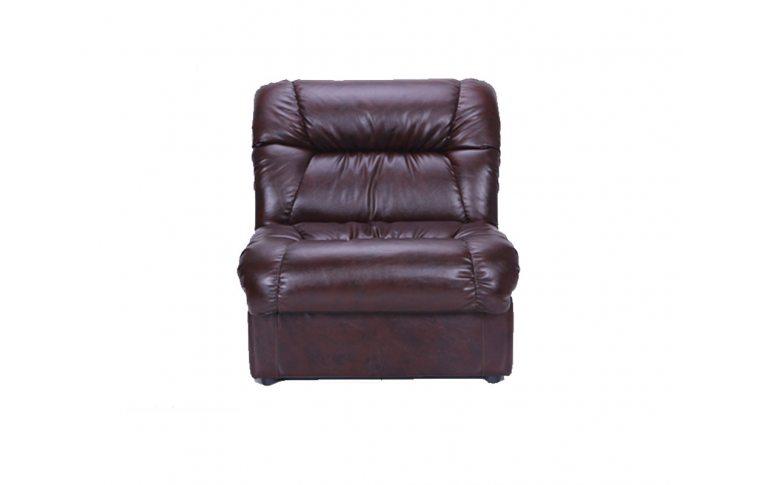 Офисные диваны: купить Диван Визит Одноместный Модуль Титан ДК Браун - 1