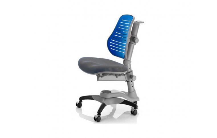 Детские кресла: купить Кресло Macaron синий-серый Goodwin - 1