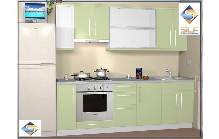 Кухни на заказ: купить Кухня под заказ Филлис Сильф - 1