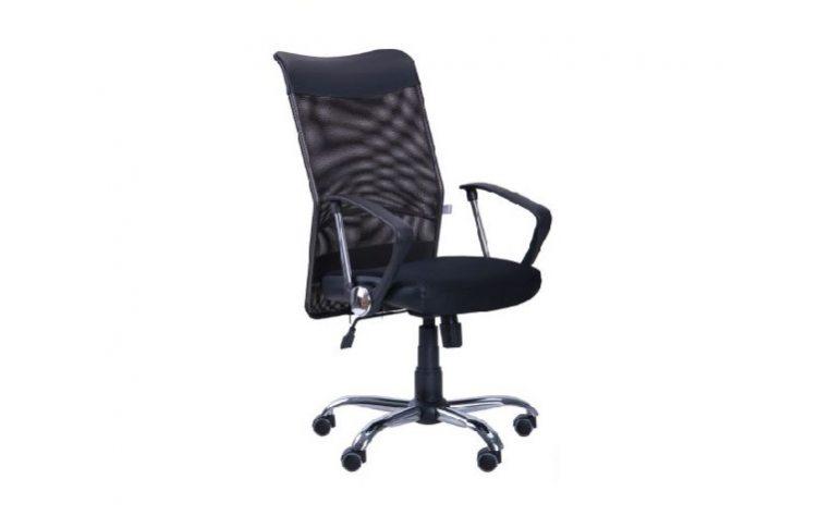 Кресла для руководителя: купить Кресло Аеро HB Line сетка черный - 1
