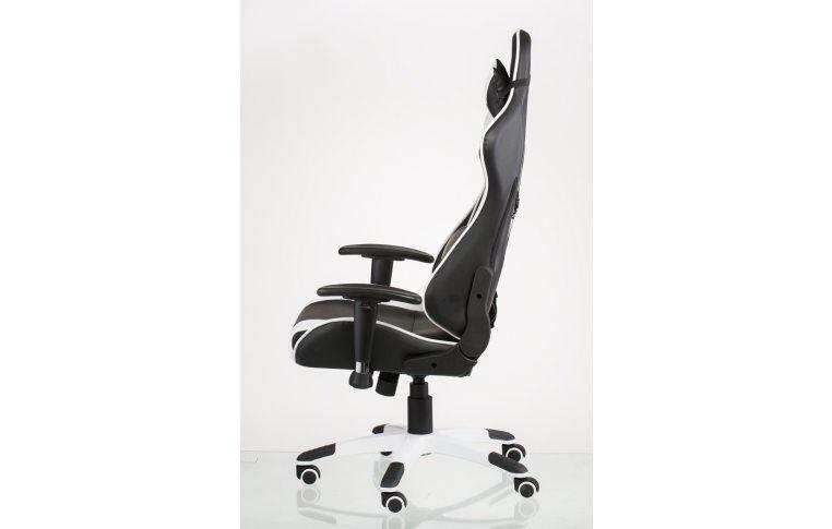 Офисные кресла: купить Кресло ExtremeRace black/white - 3