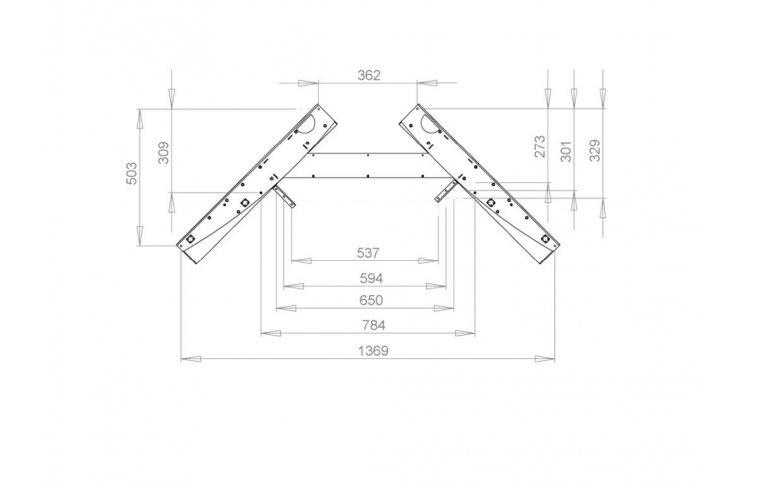 Эргономичные столы: купить Стол с регулируемой высотой 501-11-1S138 - 2