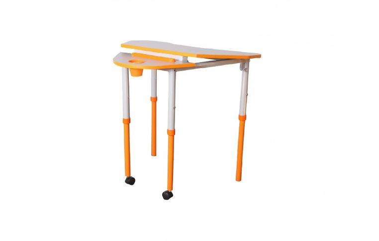 Школьные парты: купить Стол универсальный мобильный с регулировкой высоты и наклона столешницы - 2