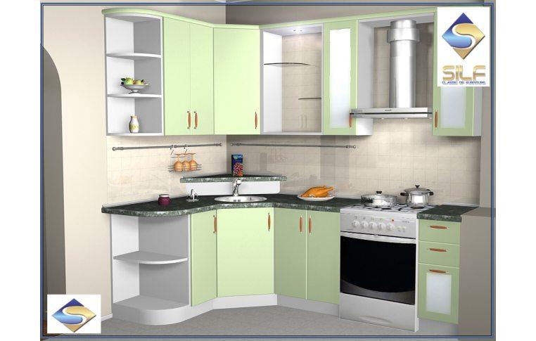 Кухонная мебель: купить Кухня под заказ Эпика Сильф - 1