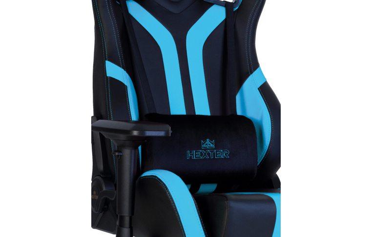 Игровые кресла: купить Кресло для геймеров Hexter Pro r4d Tilt mb70 Eco/03 Black/Blue - 10