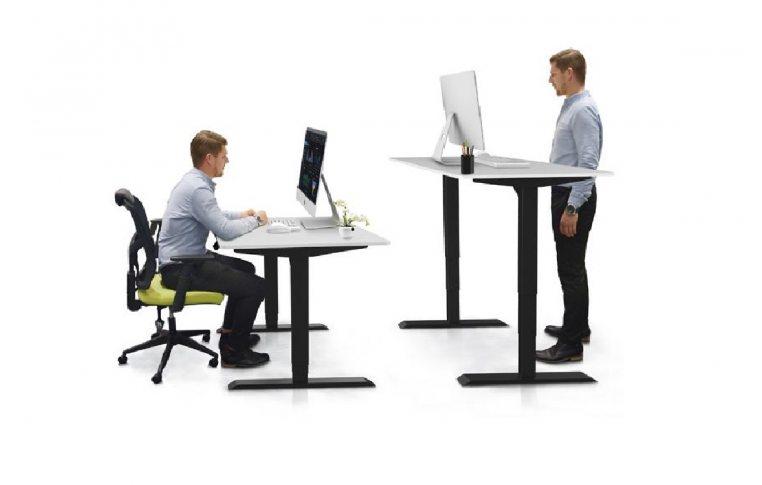 Эргономичные столы: купить Стол трансформер с регулировкой по высоте Dual Motor - 4