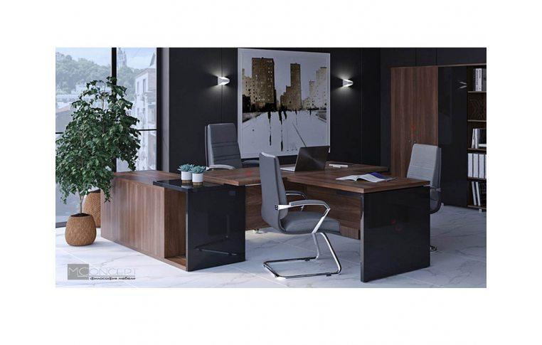 Кабинеты руководителя: купить Кабинет руководителя Глосс M-Concept - 2