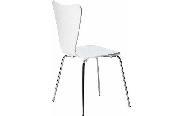 Кухонные стулья: купить Стул Ант, гнутая фанера, белый - 4