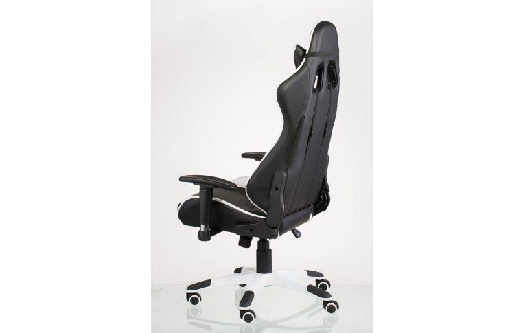 Офисные кресла: купить Кресло ExtremeRace black/white - 5