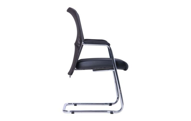 Офисные стулья: купить Стул АЕРО CF хром Неаполь N-20/сетка черная - 2