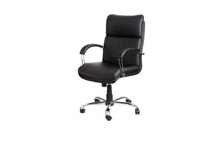 Офисная мебель: купить Кресло Дакота Хром М-1 Титан черный Richman - 1