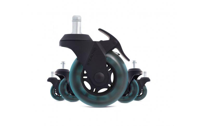 : купить Колеса для офисного кресла STEALTHO Magic Office Chair Caster Wheels - 1
