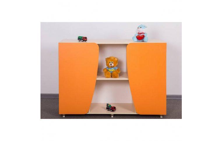 Мебель для детского сада: купить Секция двухдверная Вариант 2 - 1