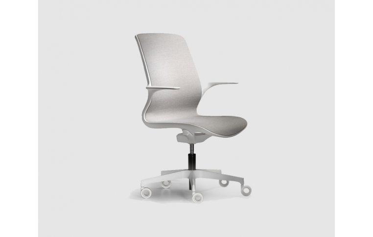 Кресла для руководителя: купить Кресло Loop белый Milani - 1